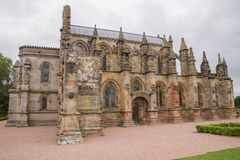 Rosslyn-Kapelle, Roslin, Schottland stockfoto