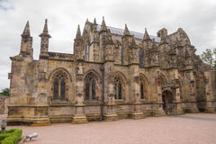 Rosslyn-Kapelle, Roslin, Schottland lizenzfreie stockfotografie