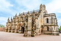 Rosslyn kaplica w Edynburg, Szkocja, UK zdjęcie royalty free