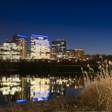Rosslyn Virginia From The Boardwalk In Georgetown, Washington DC Stock Photography