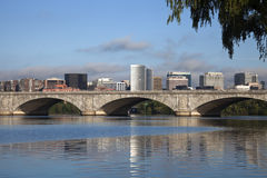 Rosslyn, Virginia and Potomac River Stock Image