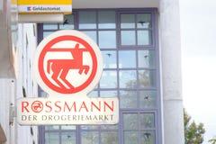 Rossman - Der Drogeriemarkt Stock Image