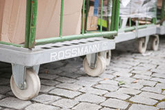 Rossmann carts Royalty Free Stock Photos