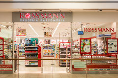 Rossmann Drogeria Parfumeria royalty free stock images
