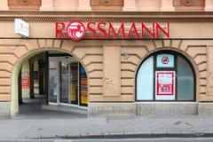 Rossmann perfumery Stock Images