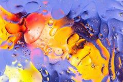 Rosso, arancia, progettazione astratta variopinta blu e gialla, struttura Bei ambiti di provenienza fotografie stock libere da diritti