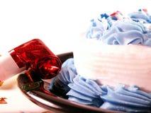 Rosso, bianco ed azzurro Fotografia Stock