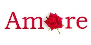 Rosso de Amore Fotografia de Stock