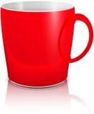 Rosso della tazza Fotografia Stock Libera da Diritti