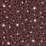 Rosso di fascino, fondo senza cuciture di struttura dei giri brillanti in bianco e nero royalty illustrazione gratis