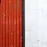 Rosso e bianco Immagine Stock