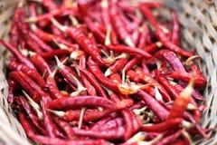 Rosso e caldo Fotografie Stock