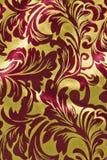 Rosso e verticale del fondo di Natale dell'oro immagini stock libere da diritti