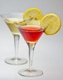 Rosso en het wit van de vermouth Stock Afbeeldingen