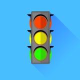 Rosso, giallo, verde Immagine Stock Libera da Diritti