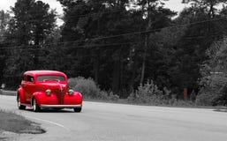 Rosso luminoso Immagine Stock