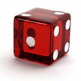 Rosso muoia Fotografie Stock Libere da Diritti
