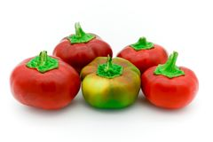 rosso piccoli peperoni dolci italiani gialli Immagine Stock