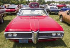 1968 rosso Pontiac Catalina Fotografia Stock Libera da Diritti