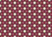 Rosso Progettazione geometry Estratto moderno Struttura beige illustrazione vettoriale
