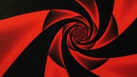 Rosso Rose Design Swirl Animation Background di giorno di biglietti di S. Valentino archivi video