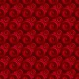Rosso senza fine del quadro televisivo Immagini Stock