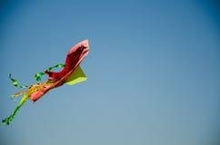 Rosso-serpente di volo Immagini Stock Libere da Diritti