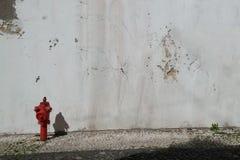 Rosso su bianco Immagini Stock Libere da Diritti