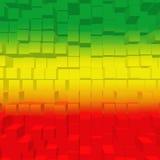 Rosso, verde, colore giallo Fotografie Stock Libere da Diritti