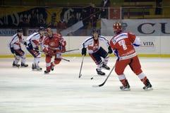 rossoblu milano хоккея стоковая фотография rf