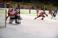 rossoblu milano хоккея стоковые фото