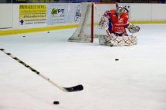 rossoblu milano хоккея стоковое изображение rf