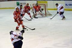 rossoblu milano хоккея стоковые изображения