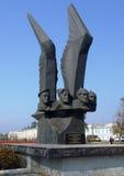 ROSSOSH, РОССИЯ: Мемориальные резиденты Rossos Стоковое Фото