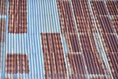 Rost auf dem Dach Stockfotografie
