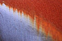 Rost auf Metallrohr lizenzfreie stockfotografie