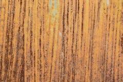 Rost auf Stahl Stockbild
