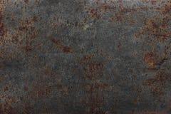 Rost auf Stahlplatte stockfotos