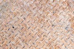 Rost-Kontrolleur-Stahlplatte stockfoto