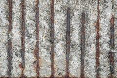 Rost och cement royaltyfri bild
