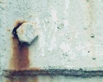 rost på gammal väggbakgrund royaltyfri foto