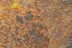 Rost på metallyttersida Royaltyfri Fotografi