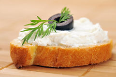 rostad brödsmörgås Royaltyfria Bilder