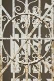 Rostad mausoleumport Fotografering för Bildbyråer