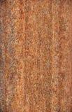 Rostad stålbakgrund Fotografering för Bildbyråer
