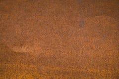 Rostad ståltexturbakgrund Royaltyfri Foto