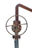 rostad ventil Fotografering för Bildbyråer