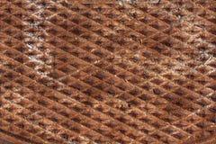 rostade industriell metall för bakgrund Arkivbild