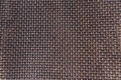 Rostade Mesh Grid Straight Royaltyfri Fotografi