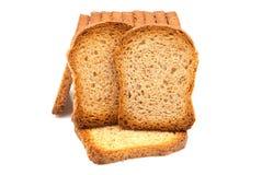 Rostat bröd av vete Arkivfoto